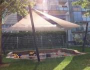 Sonnensegel & Textilarchitektur